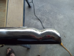 polished tool - side