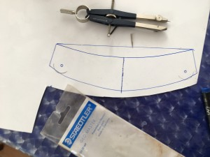 patterning an elbow lame