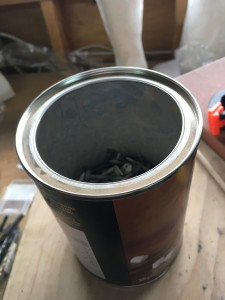 A can of annealed nails