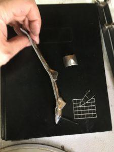 A set of assembled finger plates