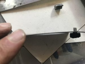 Test Fitting the turning pin
